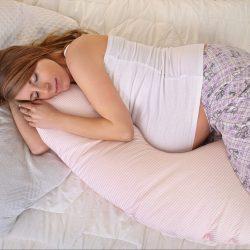 النوم الآمن للحامل